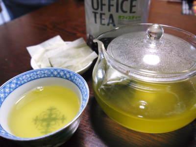 菊池水源茶 ティパック入り煎茶「オフィスティー」販売開始!_a0254656_16542835.jpg