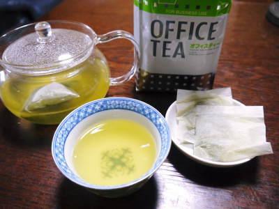 菊池水源茶 ティパック入り煎茶「オフィスティー」販売開始!_a0254656_17455137.jpg