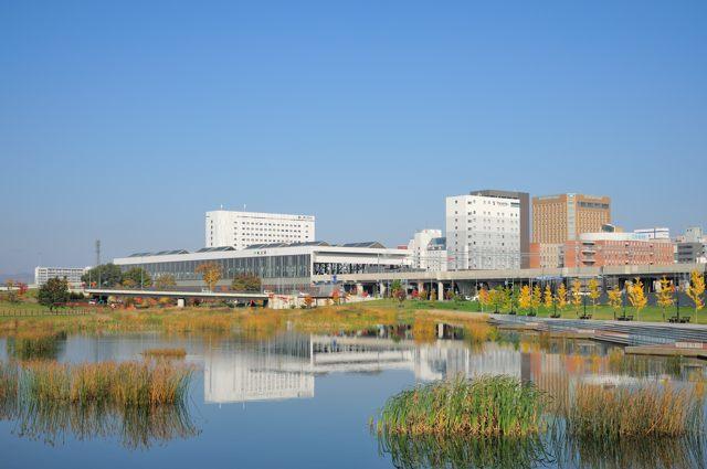 旭川駅は南東側からの眺めが美しい_c0081462_22595133.jpg