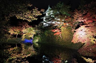 弘前城菊と紅葉まつりライトアップ_2019.11.01_d0131668_1056399.jpg