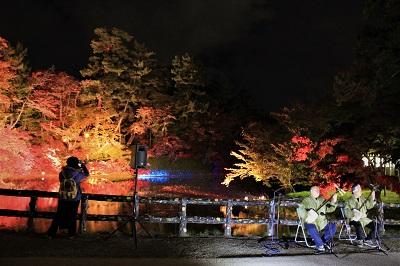弘前城菊と紅葉まつりライトアップ_2019.11.01_d0131668_10574735.jpg