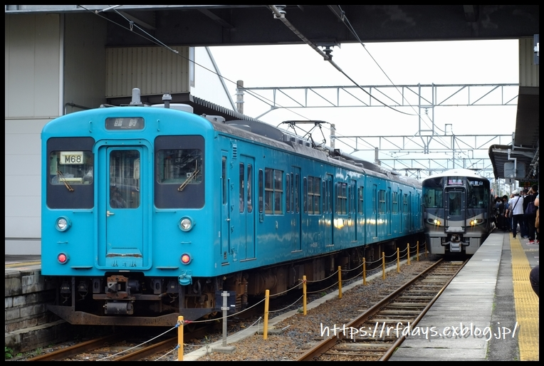 さよなら105系! JR和歌山線ラストラン(10月26日・土) -その1-_f0139991_12485094.jpg