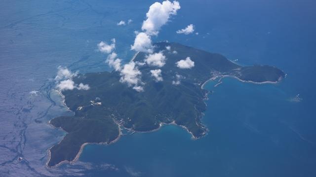 神戸から鹿児島へ瀬戸内海の美しさ、青島の絶景、桜島の雄大さ・・・飛行機からの絶景の旅_d0181492_07192798.jpg