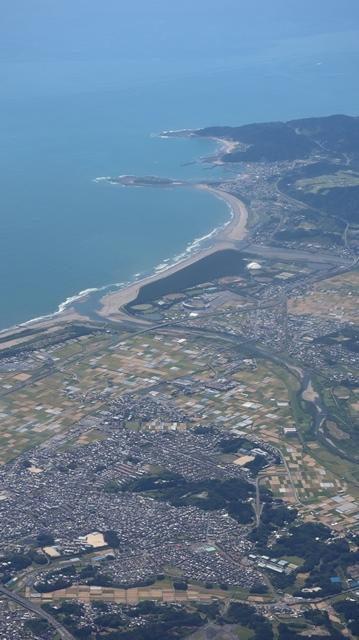 神戸から鹿児島へ瀬戸内海の美しさ、青島の絶景、桜島の雄大さ・・・飛行機からの絶景の旅_d0181492_07202067.jpg