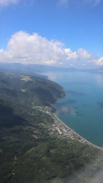 神戸から鹿児島へ瀬戸内海の美しさ、青島の絶景、桜島の雄大さ・・・飛行機からの絶景の旅_d0181492_07204544.jpg