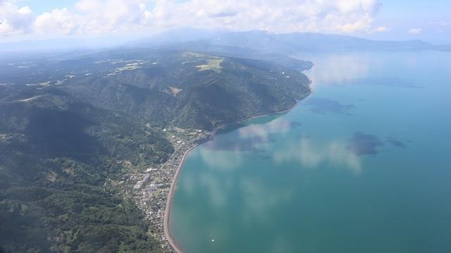 神戸から鹿児島へ瀬戸内海の美しさ、青島の絶景、桜島の雄大さ・・・飛行機からの絶景の旅_d0181492_07211934.jpg