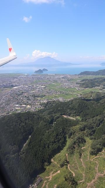 神戸から鹿児島へ瀬戸内海の美しさ、青島の絶景、桜島の雄大さ・・・飛行機からの絶景の旅_d0181492_07231919.jpg