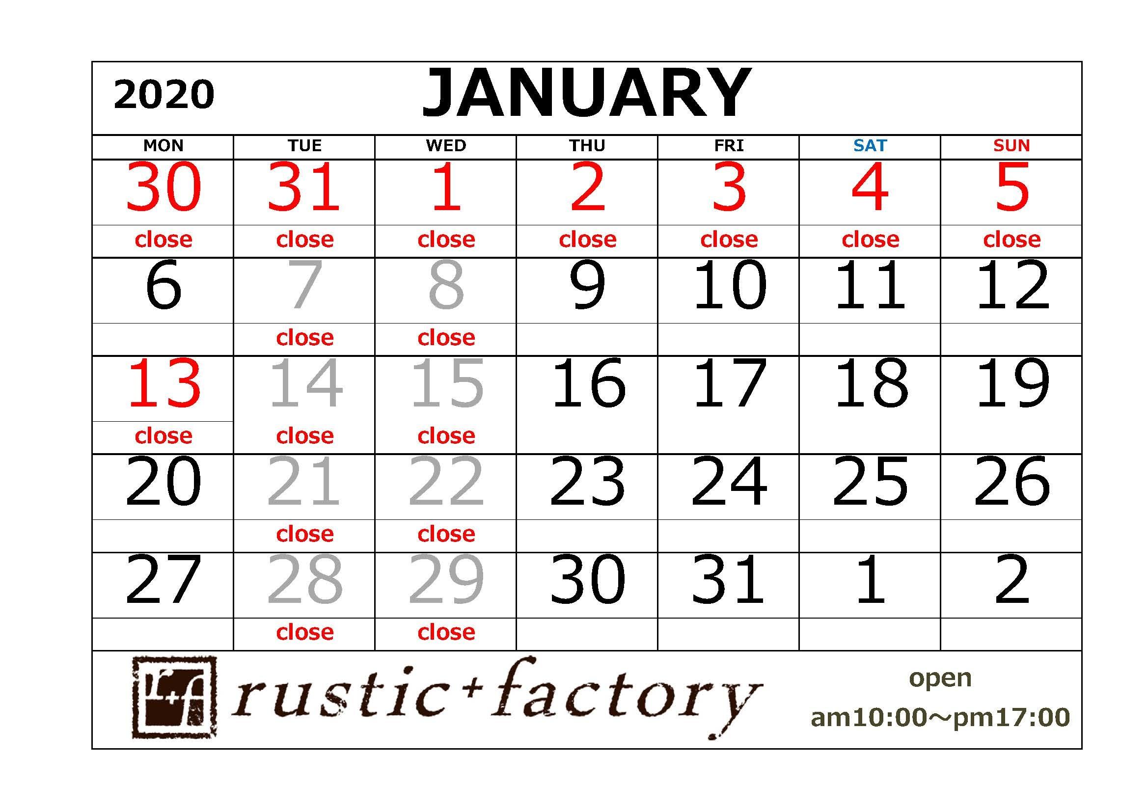 ショールームのカレンダー_f0229593_09300343.jpg