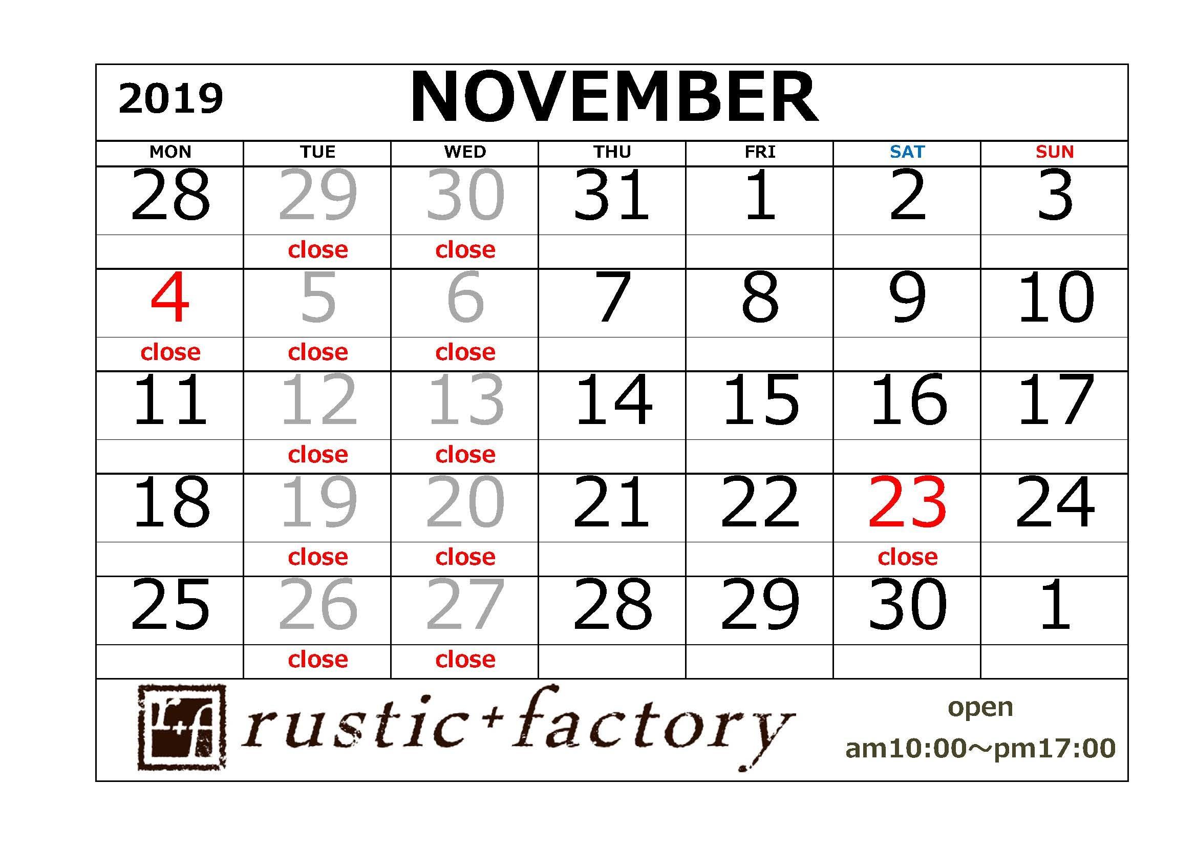 ショールームのカレンダー_f0229593_09373265.jpg
