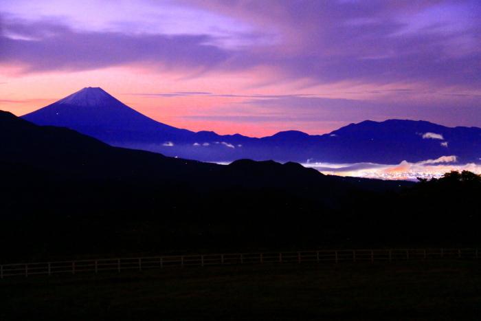 令和元年10月の富士(27)清里高原夜明けの富士_e0344396_16105411.jpg
