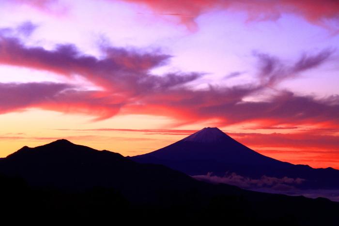 令和元年10月の富士(27)清里高原夜明けの富士_e0344396_16110938.jpg