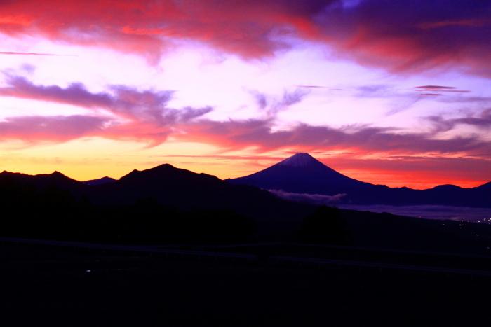 令和元年10月の富士(27)清里高原夜明けの富士_e0344396_16111304.jpg