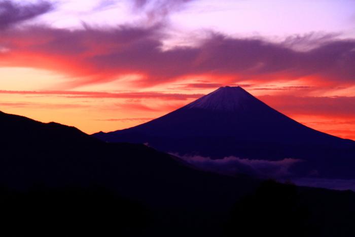 令和元年10月の富士(27)清里高原夜明けの富士_e0344396_16112234.jpg
