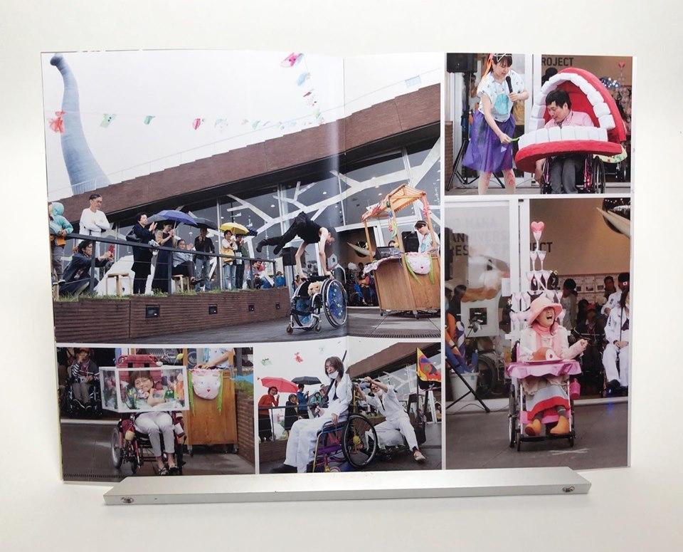『車椅子さんのファッションショー』の冊子ができた〜!_a0240806_12185008.jpg