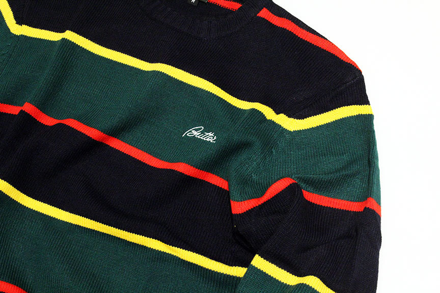 "BUTTER GOODS (バターグッズ) "" STRIPE KNITTED SWEATER \""_b0122806_15173945.jpg"