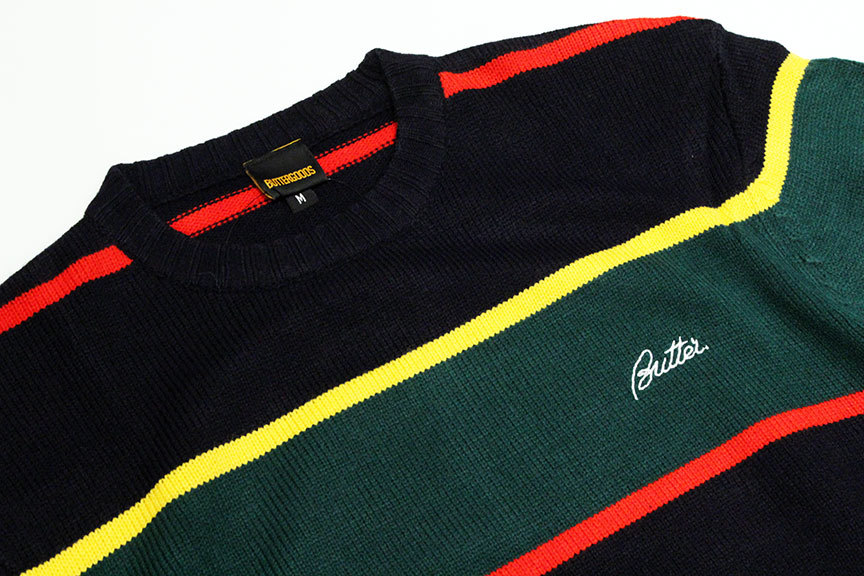 "BUTTER GOODS (バターグッズ) "" STRIPE KNITTED SWEATER \""_b0122806_15174350.jpg"