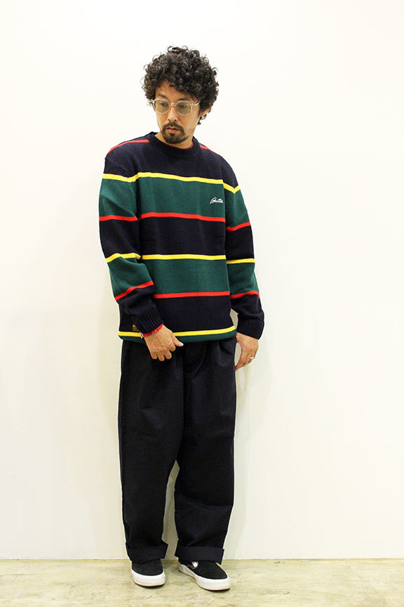 "BUTTER GOODS (バターグッズ) "" STRIPE KNITTED SWEATER \""_b0122806_15180474.jpg"