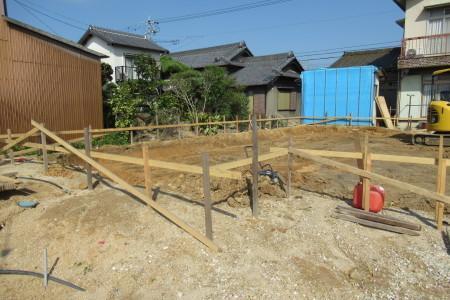 「駒場の家」基礎掘り方_b0179213_09535745.jpg