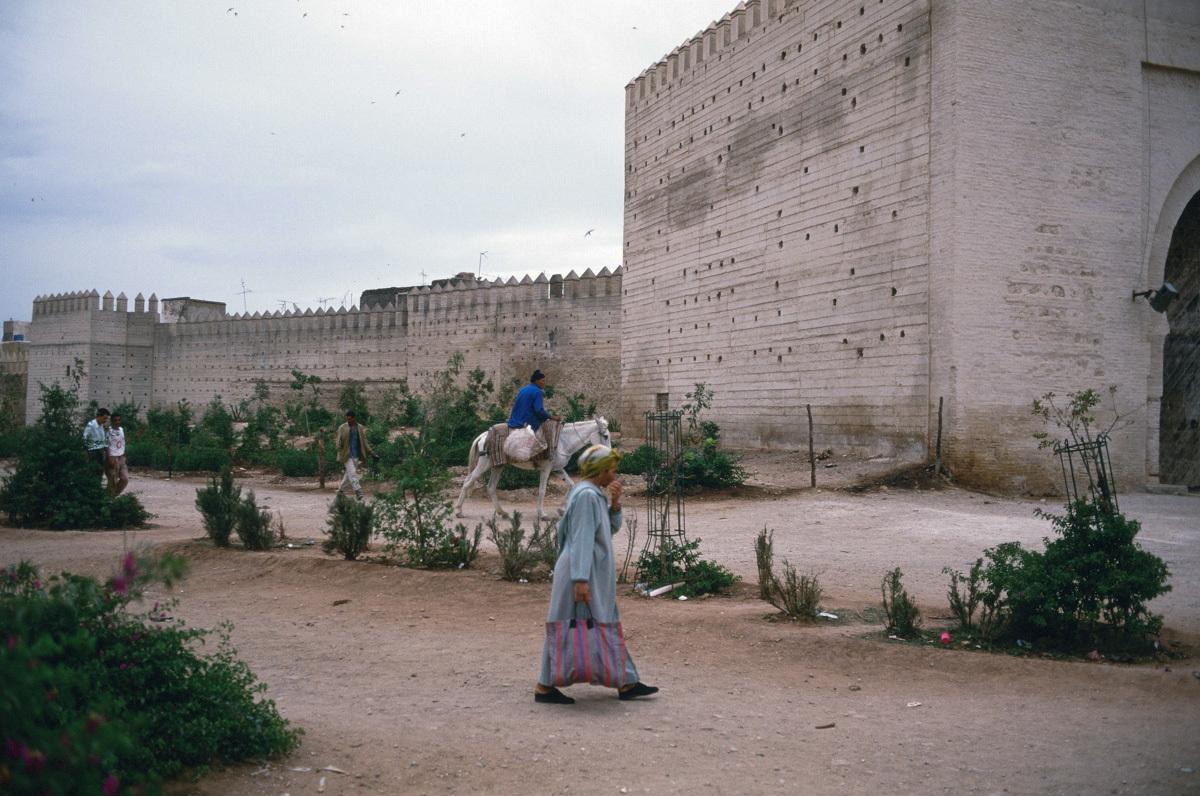 【大陸横断2000その29】フェズ  城壁の外側にて_b0061717_20311542.jpg