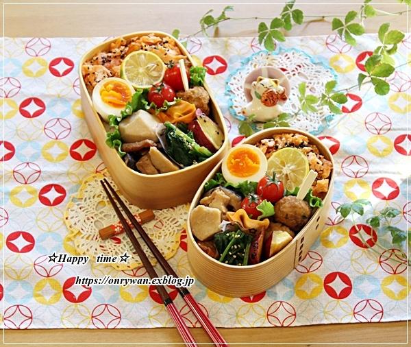おばんざい弁当と秋桜♪_f0348032_15402476.jpg