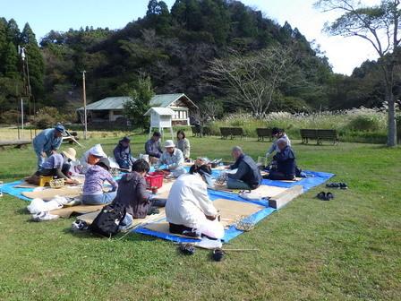 竹かご教室-4日目最終日_a0123836_16575042.jpg