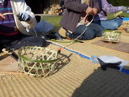 竹かご教室-4日目最終日_a0123836_16580875.jpg