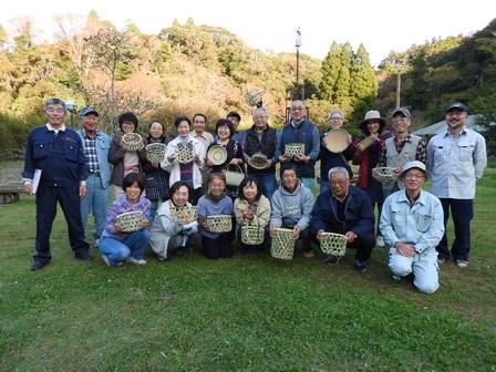 竹かご教室-4日目最終日_a0123836_16584033.jpg