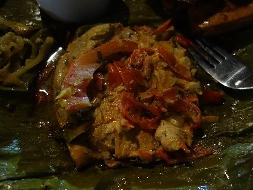レティシアのホステル近くのFUSIONでPATARASHCAの夕食_c0030645_10465425.jpg