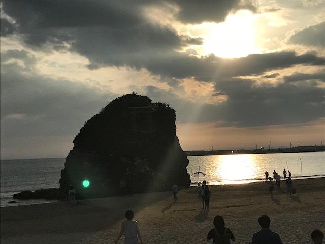 稲佐の浜へGO!_c0343447_21385338.jpg