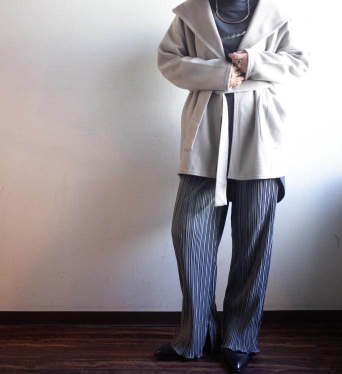 QUINOA BOUTIQUE☆起毛ボンディングフードカーディガン☆_e0269968_14095133.jpg