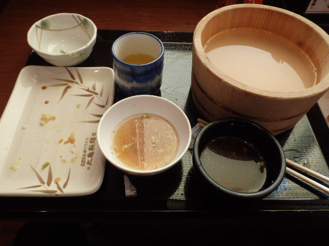 丸亀製麺        御影塚町店_c0118393_09234294.jpg