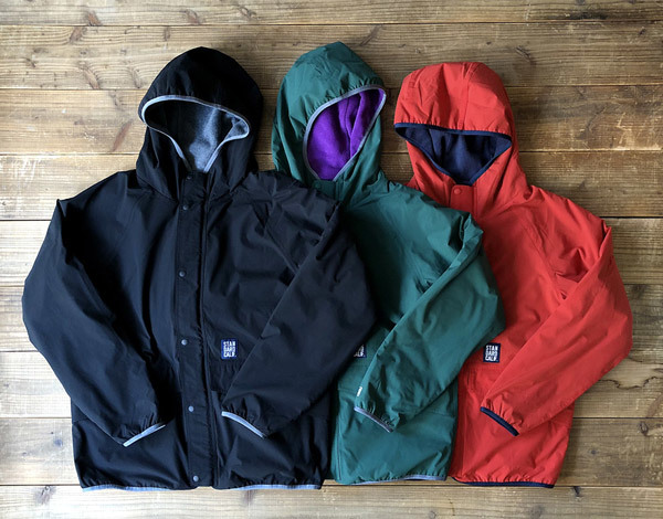 【DELIVERY】 STANDARD CALIFORNIA - Reversible Stretch Fleece Jacket / DLS L3_a0076701_12202616.jpg