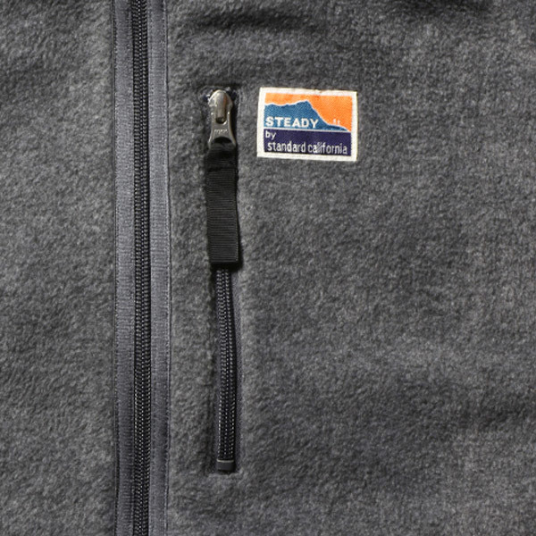 【DELIVERY】 STANDARD CALIFORNIA - Reversible Stretch Fleece Jacket / DLS L3_a0076701_12234470.jpg