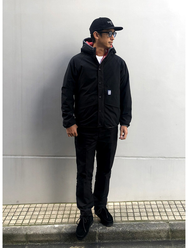 【DELIVERY】 STANDARD CALIFORNIA - Reversible Stretch Fleece Jacket / DLS L3_a0076701_12240607.jpg
