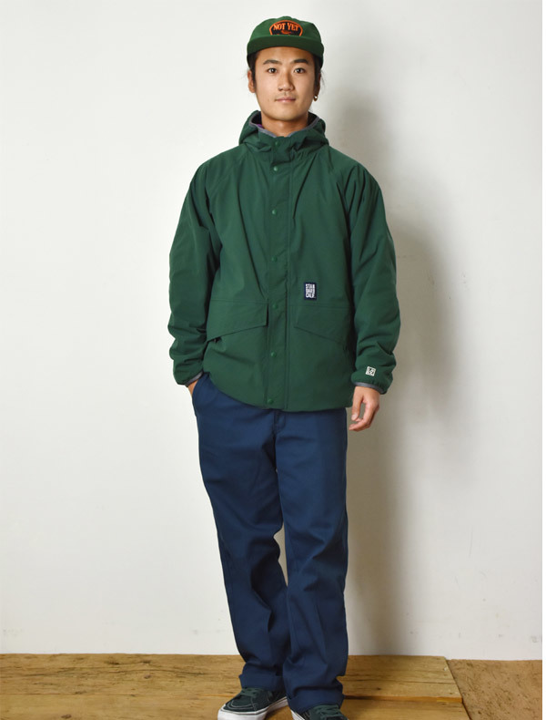 【DELIVERY】 STANDARD CALIFORNIA - Reversible Stretch Fleece Jacket / DLS L3_a0076701_12244744.jpg