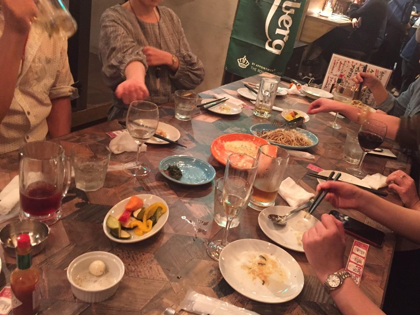 駅前ハシゴ3連荘  Pizza&Wine ESOLA_e0115904_20142431.jpg