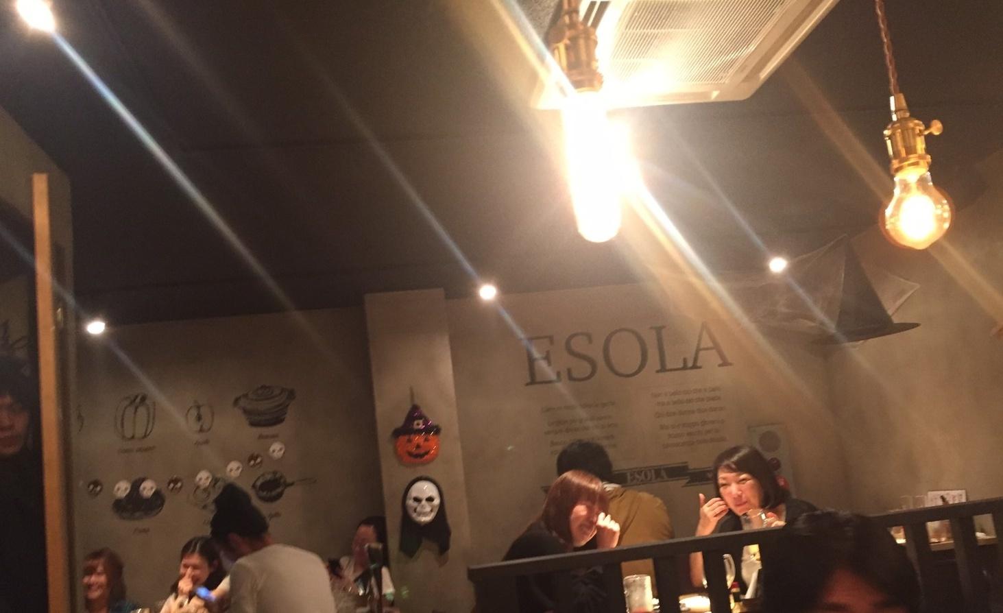 駅前ハシゴ3連荘  Pizza&Wine ESOLA_e0115904_22084593.jpg