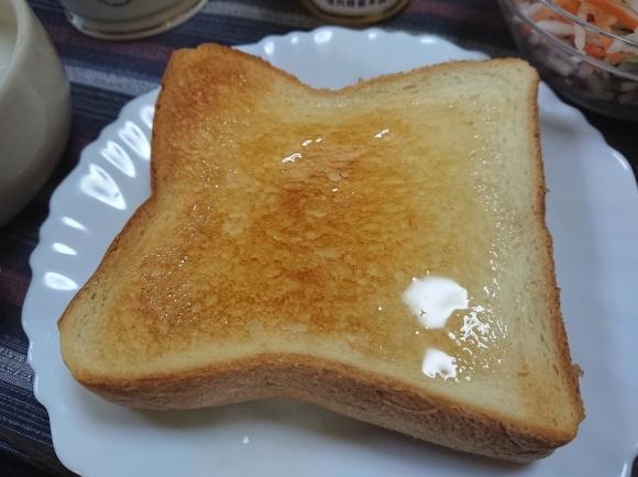 11/5 アカシアの蜂蜜トースト & フジッコ カスピ海ヨーグルト脂肪0_b0042308_09062370.jpg