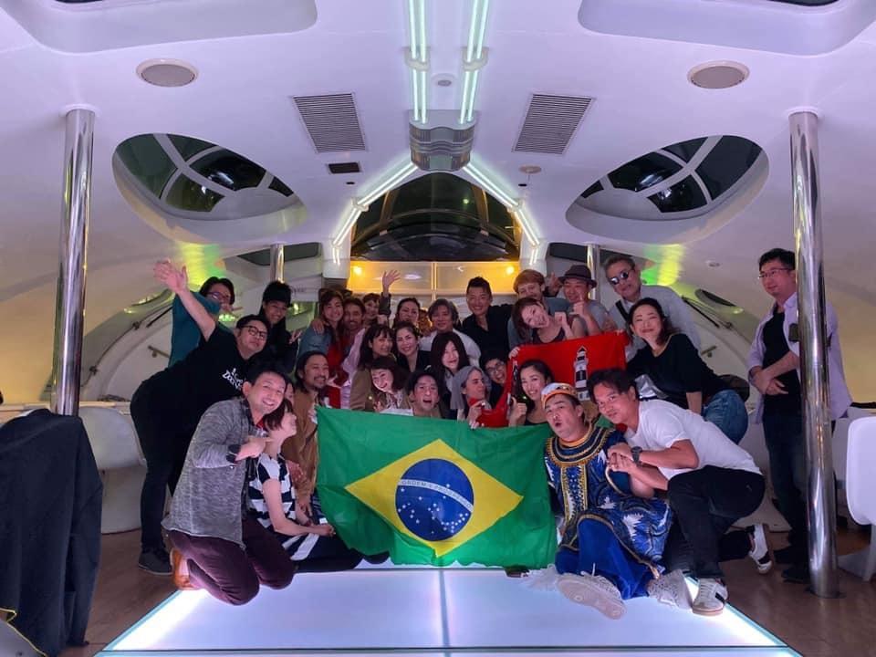 """【イベント出演レポート】クルージングパーティー\""""Roda do Brasil\"""" #Jicco #Brasil #ブラジル #打楽器 #DJ_b0032617_16225607.jpg"""
