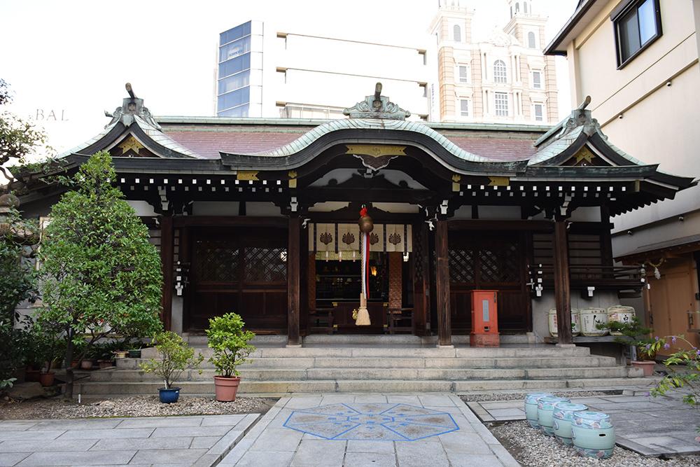 明治政府初の外交問題となった神戸事件。 その1 「三宮神社」_e0158128_20243114.jpg