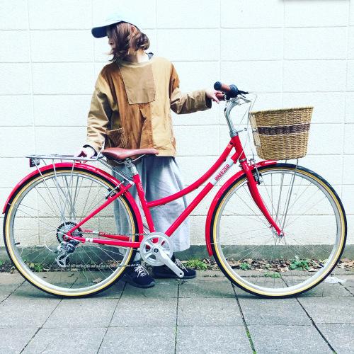 新展開「 BREEZER 」DOWN TOWN ブリーザー ダウンタウン 700c クロモリ クロスバイク おしゃれ自転車 自転車女子 自転車ガール_b0212032_16105289.jpeg