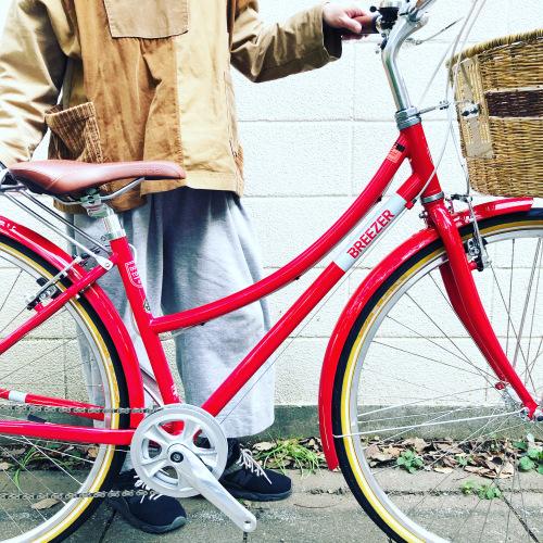 新展開「 BREEZER 」DOWN TOWN ブリーザー ダウンタウン 700c クロモリ クロスバイク おしゃれ自転車 自転車女子 自転車ガール_b0212032_16113591.jpeg