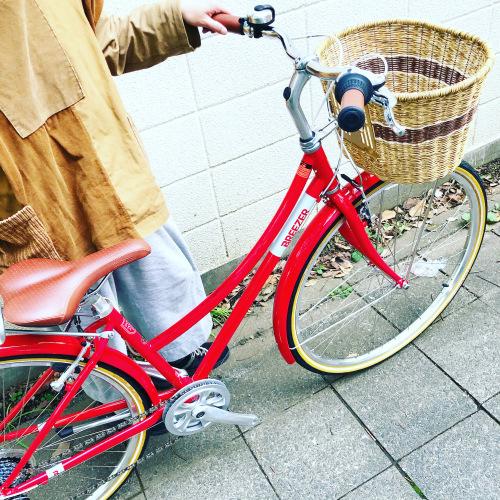 新展開「 BREEZER 」DOWN TOWN ブリーザー ダウンタウン 700c クロモリ クロスバイク おしゃれ自転車 自転車女子 自転車ガール_b0212032_16120462.jpeg