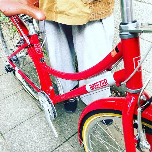 新展開「 BREEZER 」DOWN TOWN ブリーザー ダウンタウン 700c クロモリ クロスバイク おしゃれ自転車 自転車女子 自転車ガール_b0212032_16133940.jpeg