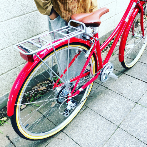 新展開「 BREEZER 」DOWN TOWN ブリーザー ダウンタウン 700c クロモリ クロスバイク おしゃれ自転車 自転車女子 自転車ガール_b0212032_16141336.jpeg