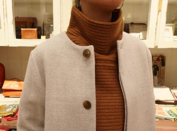 Michel beaudouin で、今年もオルジナルのコートです。_c0227633_19034340.jpg