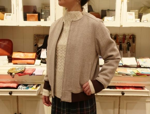 Michel beaudouin で、今年もオルジナルのコートです。_c0227633_19073657.jpg