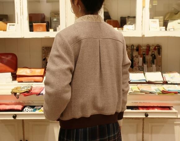 Michel beaudouin で、今年もオルジナルのコートです。_c0227633_19075876.jpg