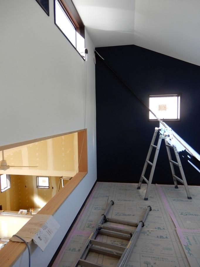伊那市の設計事務所の家づくり  開放的なリビングがある家「工事監理 内装工事」 _b0146238_20412456.jpg
