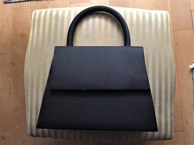 ビンテージ黒布張りのバッグ30 sold out!_f0112550_07525824.jpg